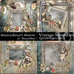 Vintage Memories QuickPage 2-$3.99 (MagicalReality Designs)