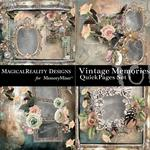 Vintage Memories QuickPage 1-$2.00 (MagicalReality Designs)