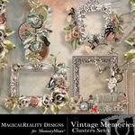 Vintage Memories Clusters 1-$1.99 (MagicalReality Designs)