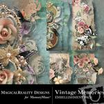 Vintage Memories Edges-$1.99 (MagicalReality Designs)
