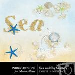 Sea and Sky Scatters Pack-$1.99 (Indigo Designs)