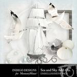 Sea and Sky Add On Combo Pack-$1.99 (Indigo Designs)