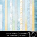 Sea and Sky Paper Pack-$2.99 (Indigo Designs)