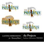 DIY Projects-$0.00 (Lasting Impressions)