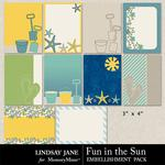 Fun in the Sun Journal Cards Pack-$1.99 (Lindsay Jane)