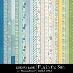 Fun in the Sun Paper Pack-$1.99 (Lindsay Jane)