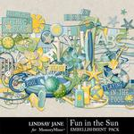 Fun in the Sun Embellishment Pack-$3.99 (Lindsay Jane)