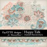Happy Talk Paisley Pieces-$3.99 (Fayette Designs)