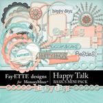 Happy Talk Basics Mini Pack-$4.99 (Fayette Designs)