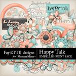 Happy Talk Embellishment Pack-$2.99 (Fayette Designs)