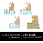 At the Beach Freebie-$0.00 (Lasting Impressions)
