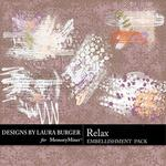 Relax Gesso Splatters Pack-$2.49 (Laura Burger)