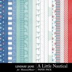 A Little Nautical Paper Pack-$3.49 (Lindsay Jane)