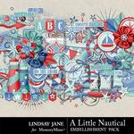 A Little Nautical Embellishment Pack-$3.49 (Lindsay Jane)
