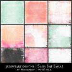 Sassy But Sweet Blended Paper Pack-$3.49 (Jumpstart Designs)