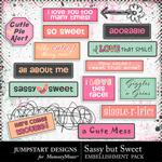 Sassy But Sweet Love Bits Pack-$2.49 (Jumpstart Designs)