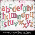 Sassy But Sweet Alphabet Pack-$3.99 (Jumpstart Designs)