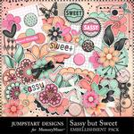 Sassy But Sweet Embellishment Pack-$3.49 (Jumpstart Designs)