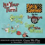 The Games We Play WordArt Pack-$1.49 (Laura Burger)