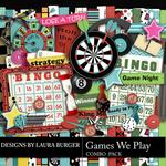 The Games We Play Combo Pack-$3.00 (Laura Burger)