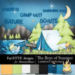 The Boys of Summer Campout Mini Pack-$2.10 (Fayette Designs)