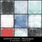 Shenanigans Blended Paper Pack-$2.99 (Jumpstart Designs)