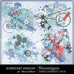 Shenanigans Splatters Pack-$2.49 (Jumpstart Designs)