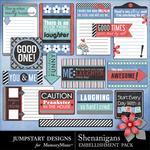 Shenanigans Journal Pack-$2.49 (Jumpstart Designs)