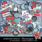 Shenanigans Add On Embellishment Pack-$3.99 (Jumpstart Designs)