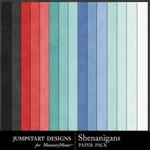 Shenanigans Solid Paper Pack-$3.49 (Jumpstart Designs)