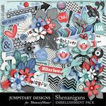 Shenanigans Embellishment Pack-$3.49 (Jumpstart Designs)
