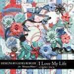 I Love My Life Combo Pack-$4.99 (Laura Burger)