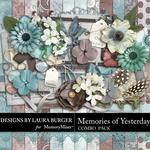 Memories of Yesterday Combo Pack-$4.99 (Laura Burger)
