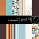 Such A Boy Paper Pack 1-$4.00 (s.e.i)