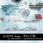 Free 2 Be Background Fancies-$1.99 (Fayette Designs)