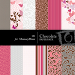 Chocolate Paper Pack 1-$4.00 (s.e.i)