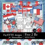 Free 2 Be Mini Pack-$2.10 (Fayette Designs)