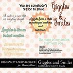 Giggles and Smiles WordArt-$2.49 (Laura Burger)