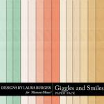 Giggles and Smiles Solid Paper Pack-$3.49 (Laura Burger)