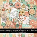 Giggles and Smiles Combo Pack-$2.50 (Laura Burger)
