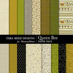 Queen Bee Paper Pack-$2.99 (Tara Reed Designs)