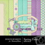 Spring Fresh Mini Pack-$3.99 (Designs by Krista)