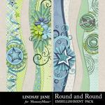 Round and Round Borders Pack-$1.99 (Lindsay Jane)