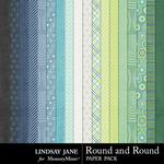 Round and Round Paper Pack-$2.49 (Lindsay Jane)