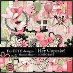 Hey Cupcake Combo Pack-$7.99 (Fayette Designs)