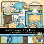 Hey Dude Basics Mini Pack-$2.10 (Fayette Designs)