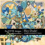 Hey Dude Embellishment Pack-$2.45 (Fayette Designs)