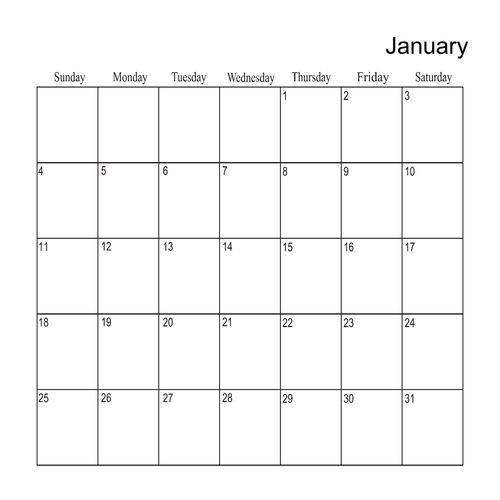 2015 Calendar Template Square QuickMix Scrapbook Page Design