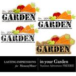 In Your Garden Freebie-$0.00 (Lasting Impressions)