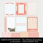 You Matter Journaling Pack-$1.40 (Karen Lewis)